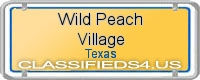 Wild Peach Village board